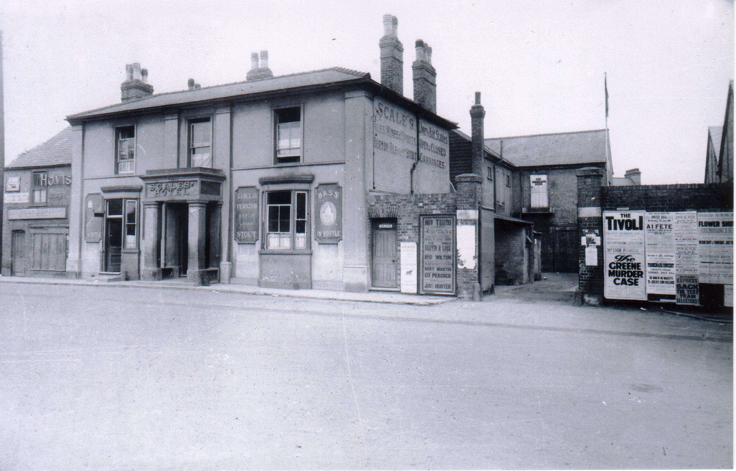 Scales Hotel 1880's