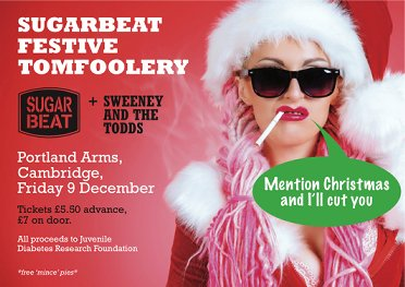 *Sold Out* Sugarbeat Festive Tomfoolery