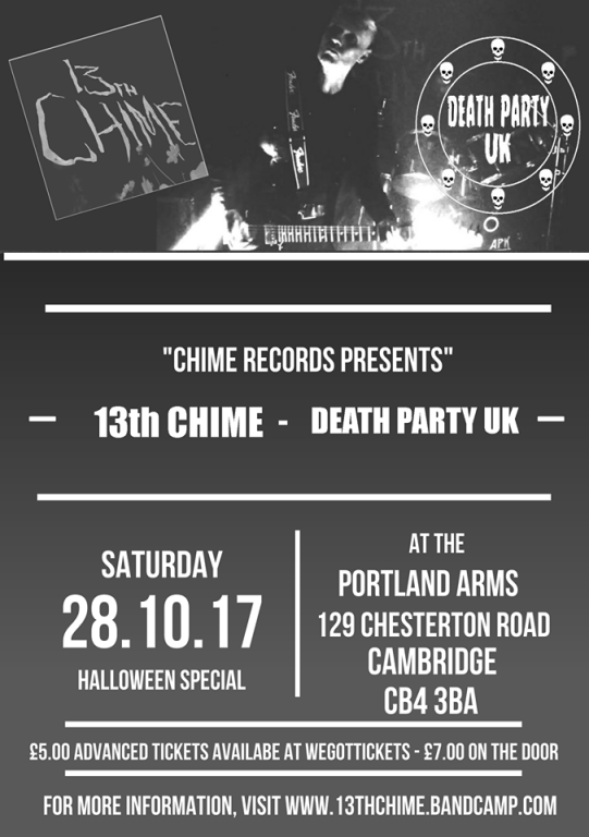 Halloween Special - 13th Chime + Death Party UK