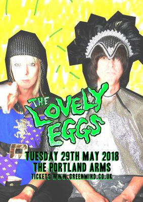 Green Mind presents THE LOVELY EGGS - SOLD OUT
