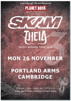 MJR & Planet Rock presents: SKAM + THEIA