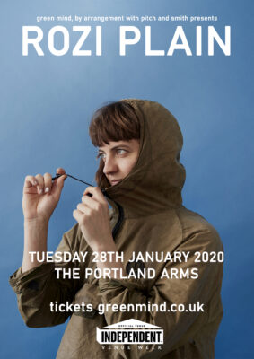 Green Mind presents ROZI PLAIN (Independent venues week)